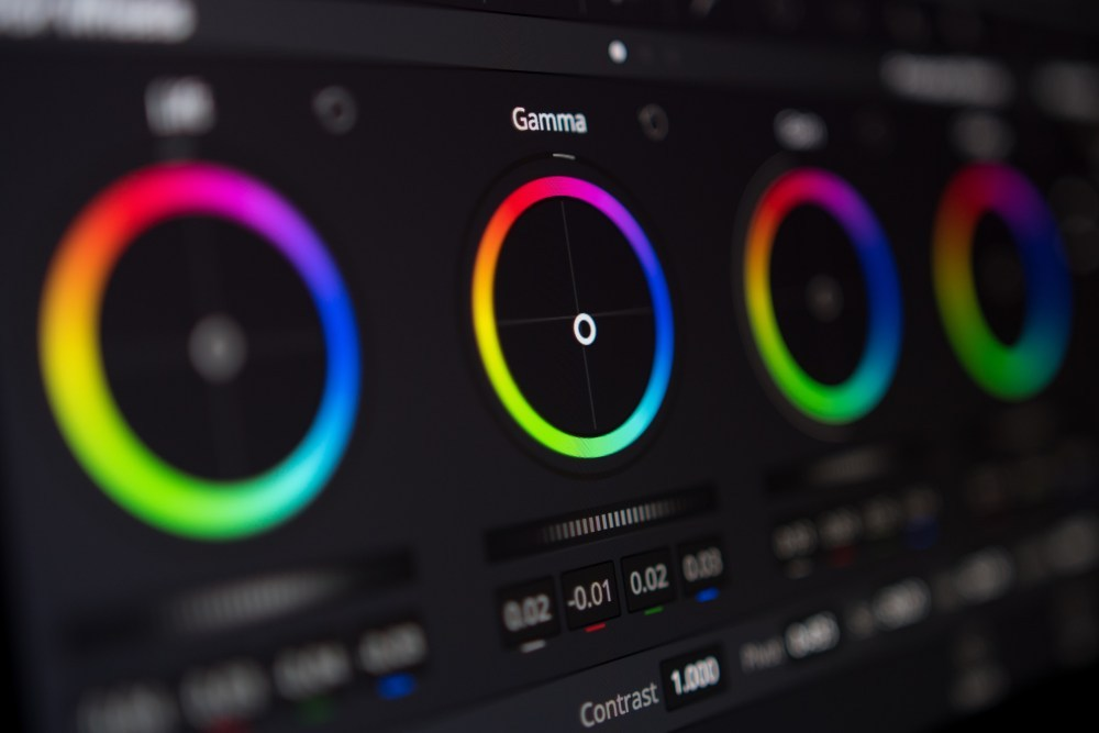étalonnage video screenshot davinci resolve