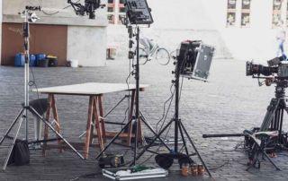 tournage video blog