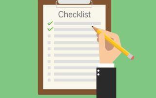 préproduction checklist